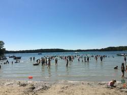 Elkhart Lake Beach