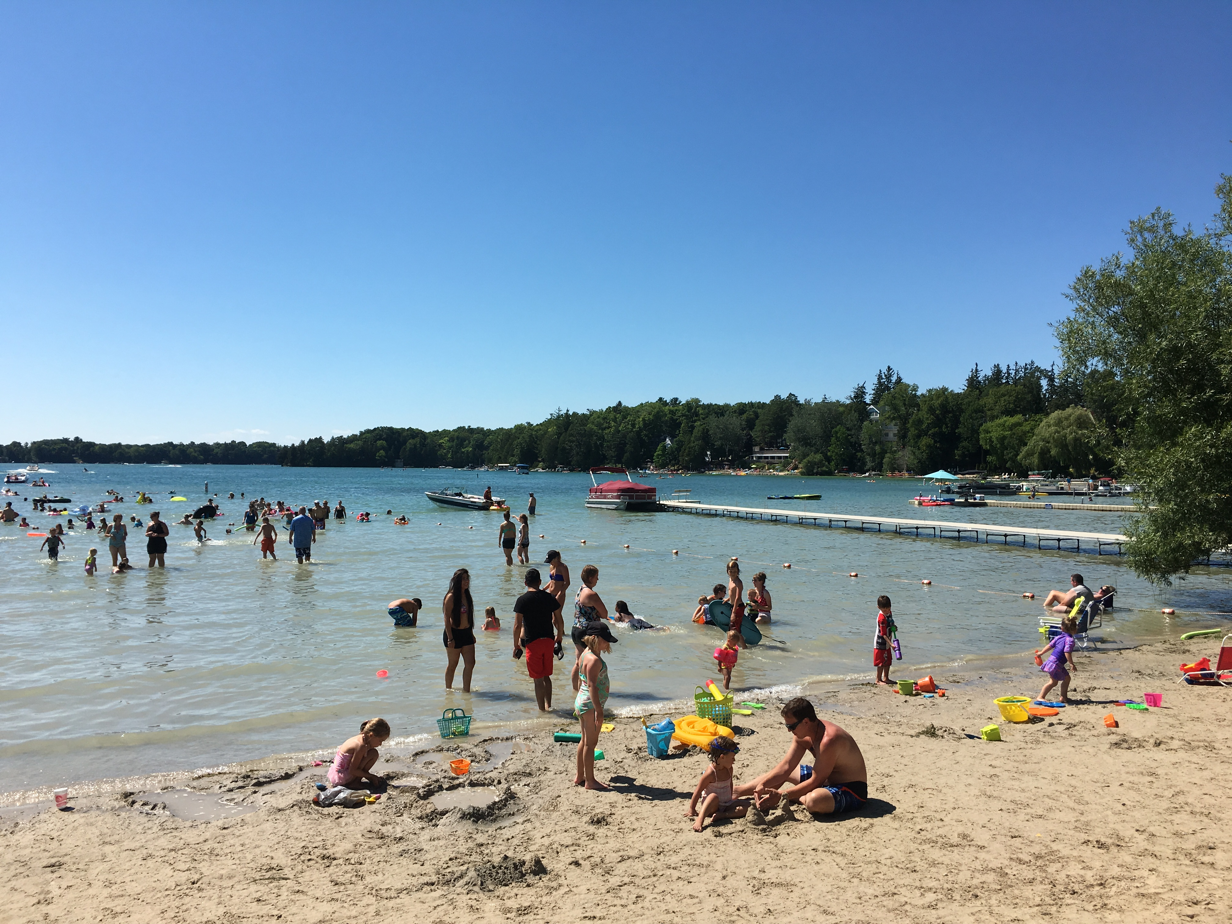 Elkhart Lake Beach