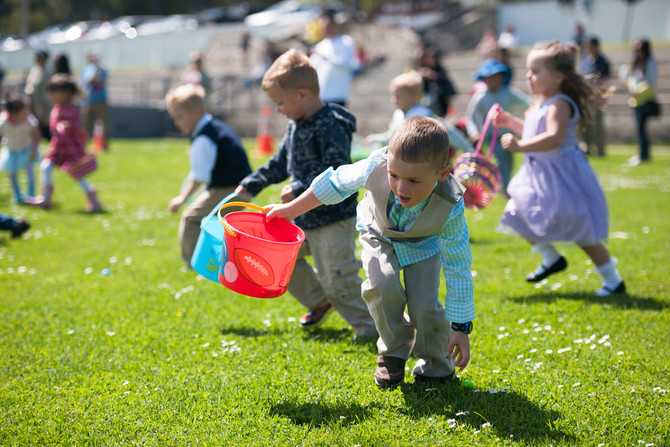 Easter Egg Hunts!