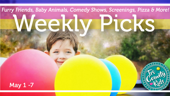 This Week: Birds, Baby Animals, Historic Villages, Zoo Art & More  May 1- 7, 2017