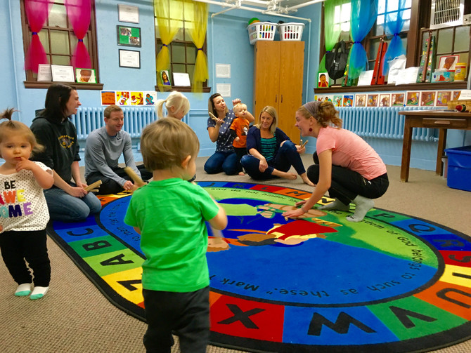 Listen to the Beat: Kindermusik Classes in Our Communities