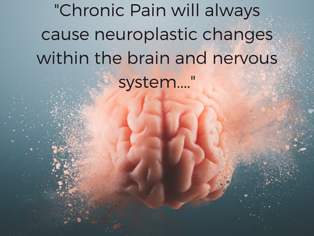 Chronic Pain is a Neurological problem...
