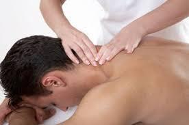 Mens Back Massage