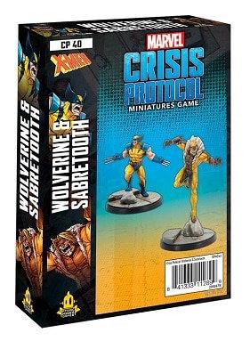 Marvel Crisis Protocol: Wolverine and Sabretooth