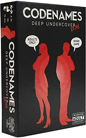 Codenames Deep Undercover 2.0