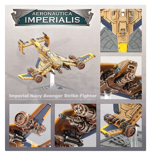 Aero/Imperialis: Imperial Navy Avenger Strike Fighters