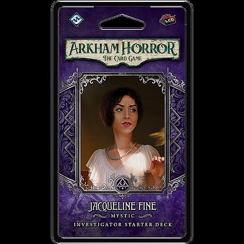 Arkham Horror LCG : Jacqueline Fine Investigator Starter Deck