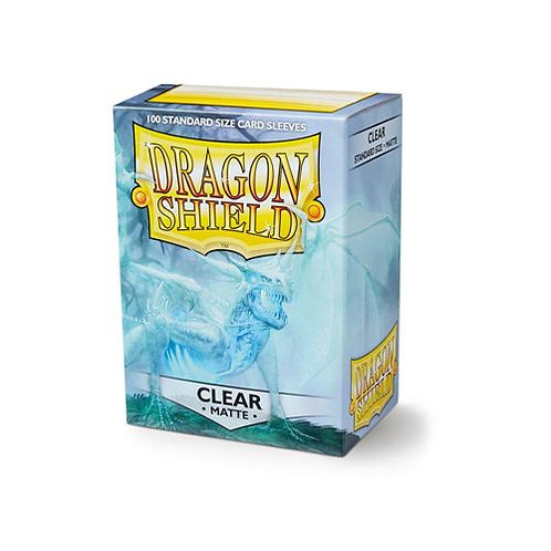 Dragon Shield Standard Matte- Clear