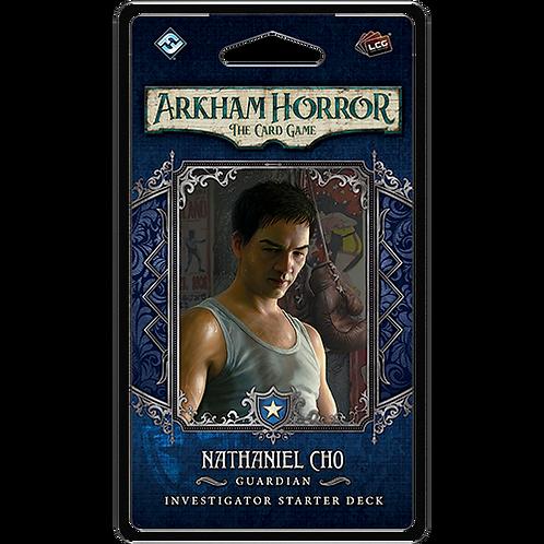 Arkham Horror LCG : Nathaniel Cho Investigator Starter Deck