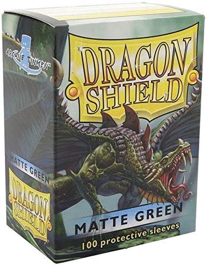 Dragon Shield Standard Matte - Green