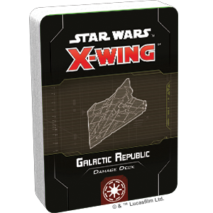 Galactic Republic Damage Deck