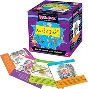 BrainBox Roald Dahl New Edition (55 cards)