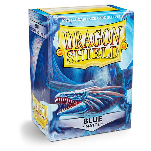Dragon Shield Standard Matte - Blue