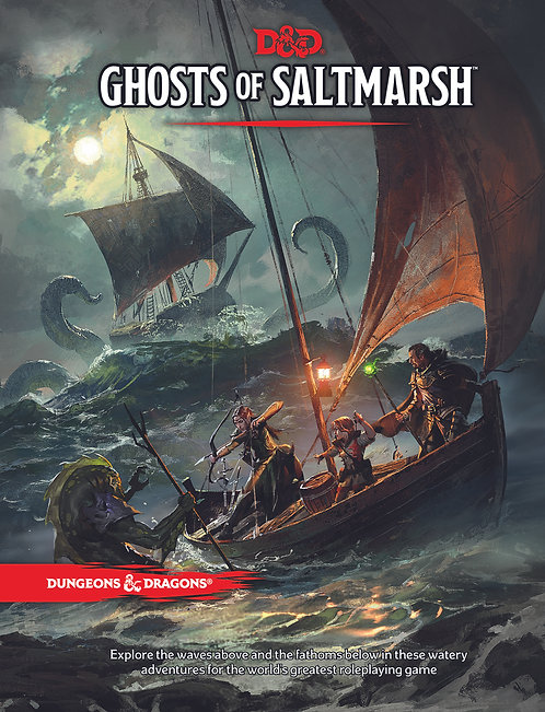 Ghosts of Saltmarsh: Dungeons & Dragons