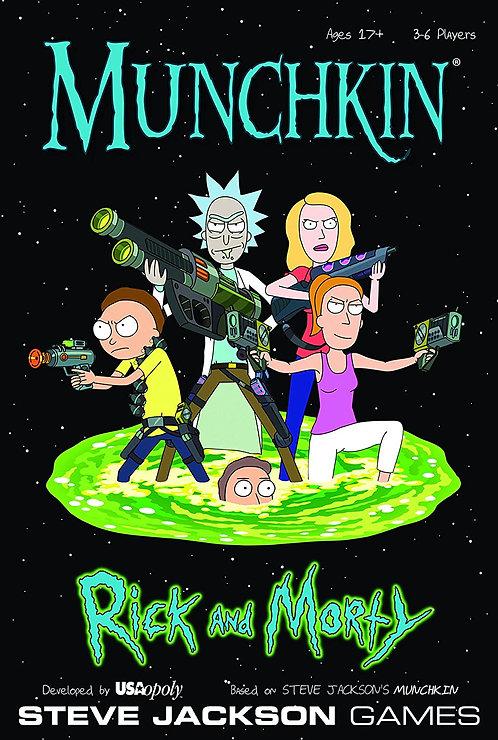 Munchkin: Rick and Morty