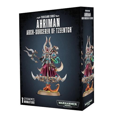 Ahriman Arch-Sorcerer Of Tzeentch