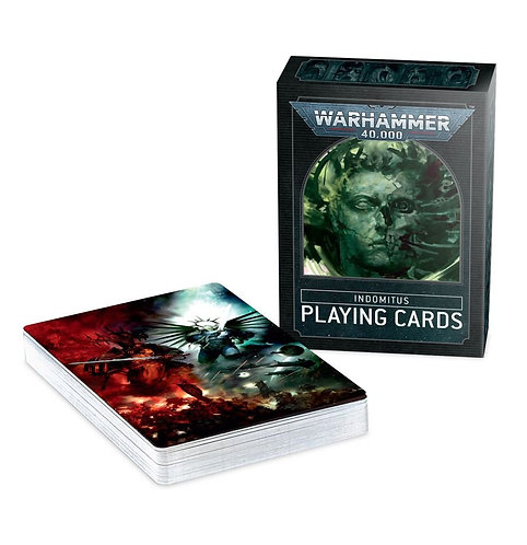 Warhammer 40000: Indomitus Playing Cards