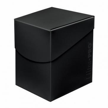 Deck Box: Eclipse - Black 100+ Cards
