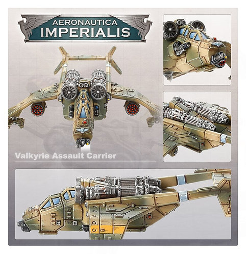 Aero/Imperialis: Valkyrie Assault Carriers