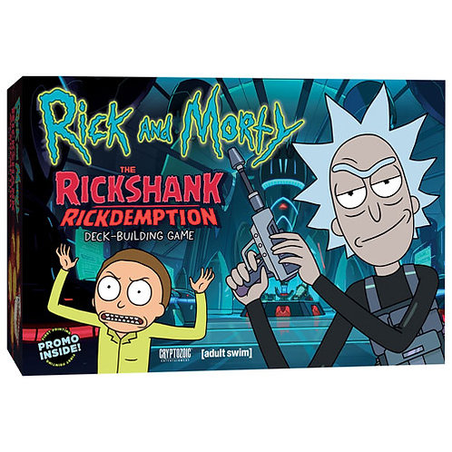 Rick and Morty The Rickshank Rickdemption Deck Building Game