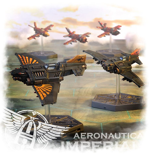 Aero/Imperialis: Imperial Navy Thunderbolt Fighters