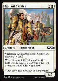 Gallant Cavalry