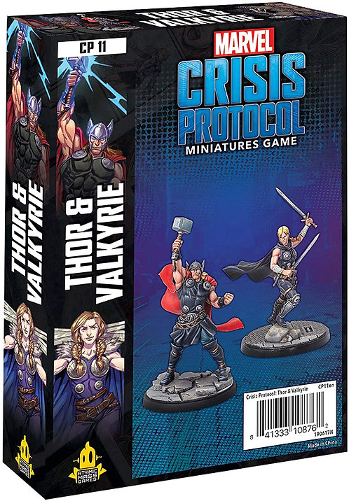 Marvel Crisis Protocol: Thor and Valkyrie