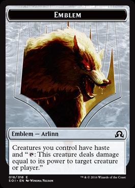 Emblem: Arlinn, Embraced by the Moon