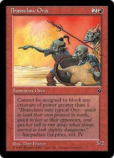 Brassclaw Orcs