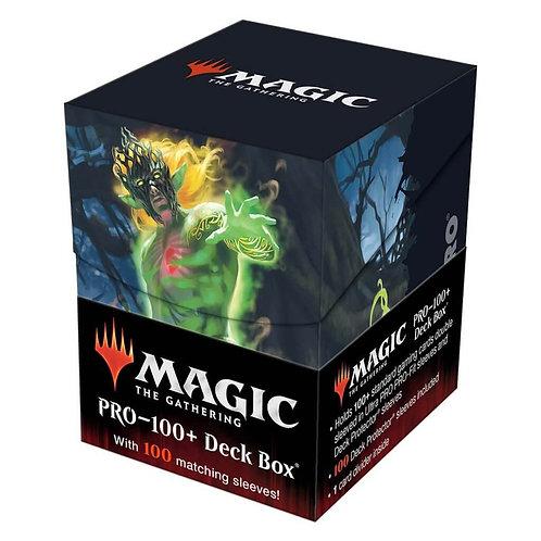 Magic the Gathering: Zendikar Rising Commander Combo V1 PRO 100+ Deck Box and 10