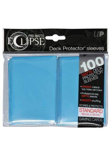 PRO-Matte Eclipse Sky Blue Standard Card Sleeves