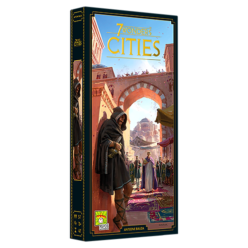 7 Wonders 2nd Ed: Cities Expansion