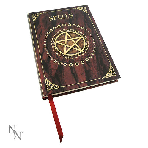 Embossed Spell Book Red (17cm)