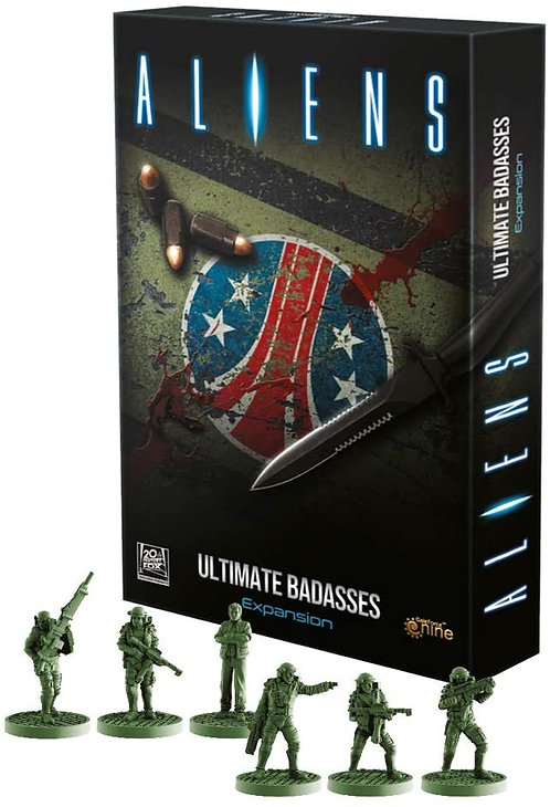Aliens: Ultimate Badasses Expansion: A Cooperative Survival Game