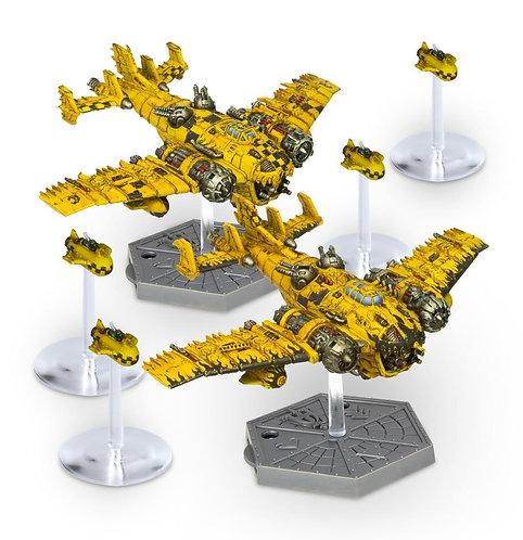 Aero/Imperialis: Ork Air Waaagh! Grot Bommers