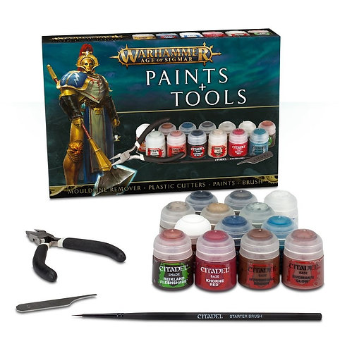 Age Of Sigmar: Paints+Tools