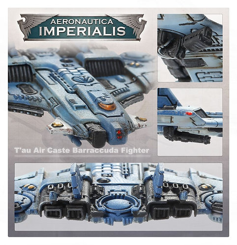 Aero/Imperialis: T'Au Air Caste Barracuda Fighters