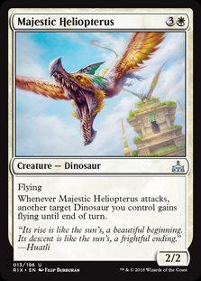 Majestic Heliopterus