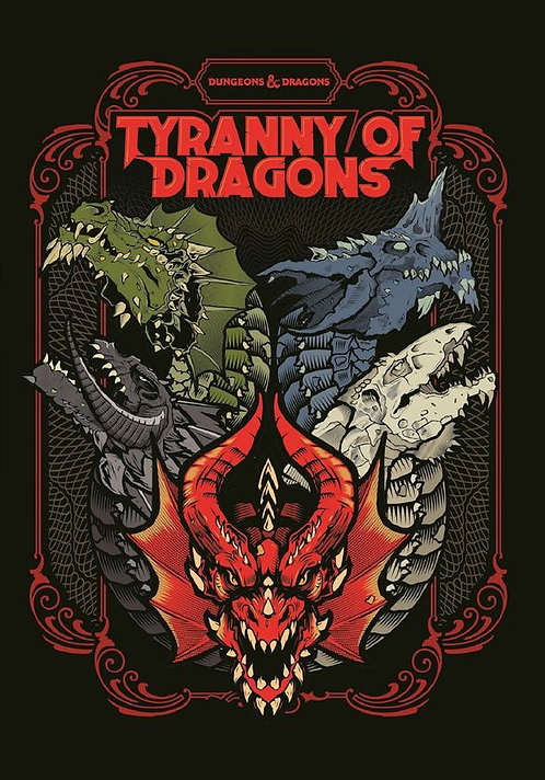 D&D Tyranny of Dragons (Hoard of the Dragon Queen/The Rise of Tiamat) Limited Ed