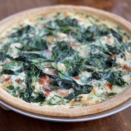 Simple and Flaky Pie Crust - great for quiche or a sweet treat