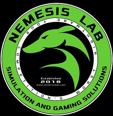 FINAL-NEMESIS LAB SOLUTIONS LOGO-CIRCLE-V4-GREEN & BLACK-WHITE L.png