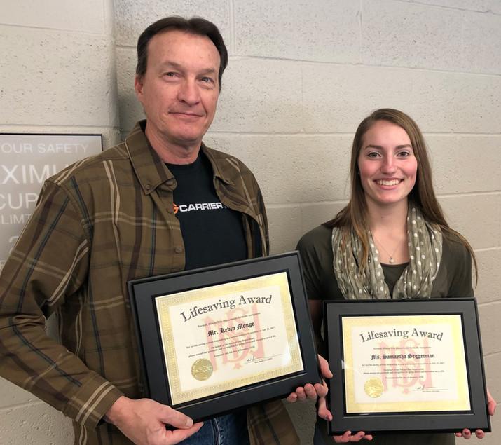 Citizens receive lifesaving awards