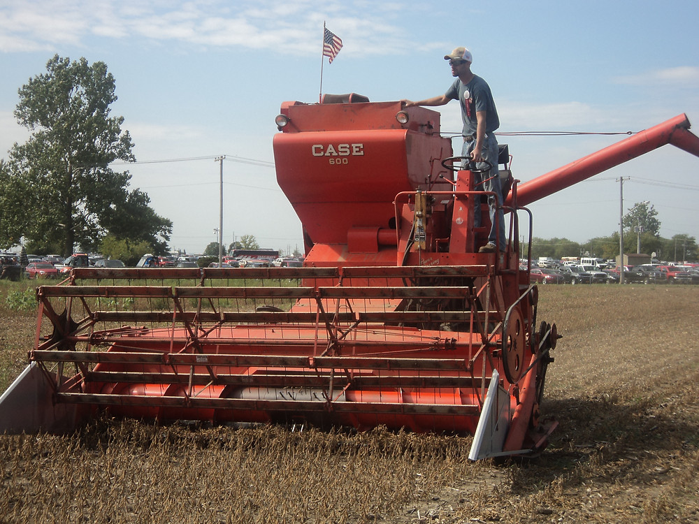 An old combine at the 2017 Half Century of Progress in Rantoul / CIFN file photo.