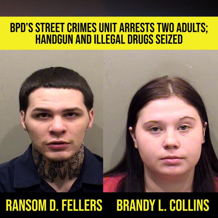 Gun, drugs seized in Bloomington