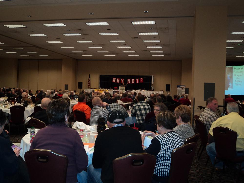 A previous IAAF convention in Springfield / CIFN file photo.