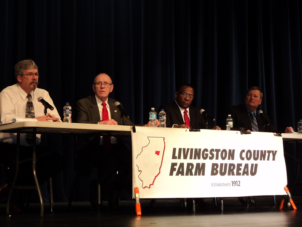 (A former sheriff forum is shown in 2014 / CIFN file photo)