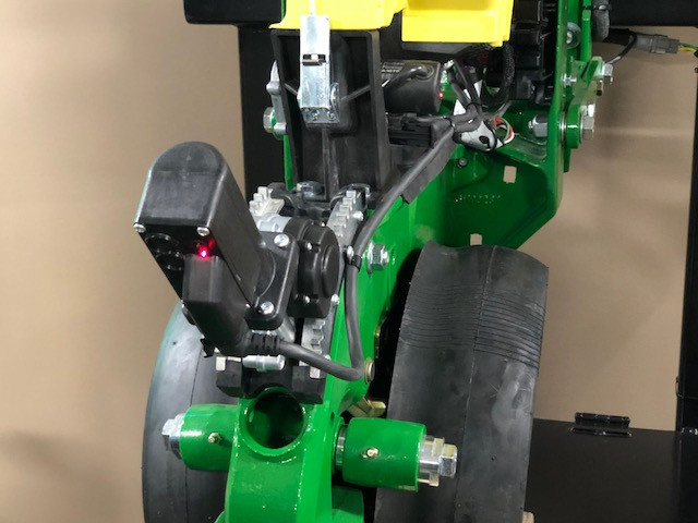 Automatic depth control is one of the new features announced by Precision Planting during the company's winter conference in Tremont this week / CIFN photo.