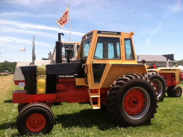 A Case display at the Historic Farm Days event in Penfield / CIFN photo.