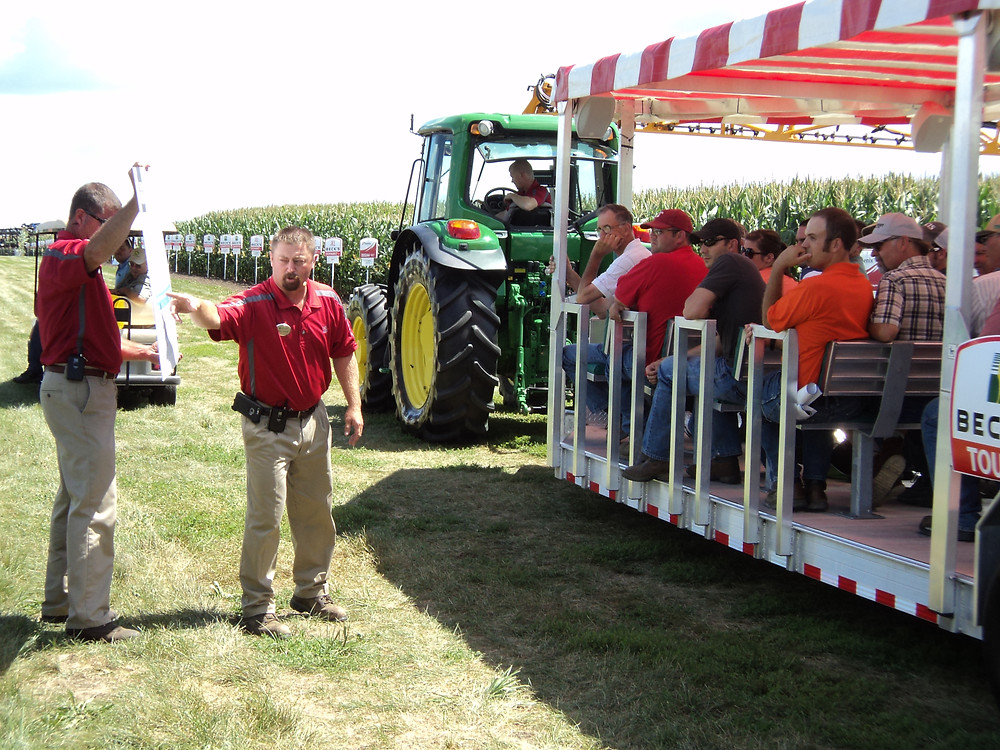 A previous Beck's Practical Farm Research tour is shown in Downs / CIFN file photo