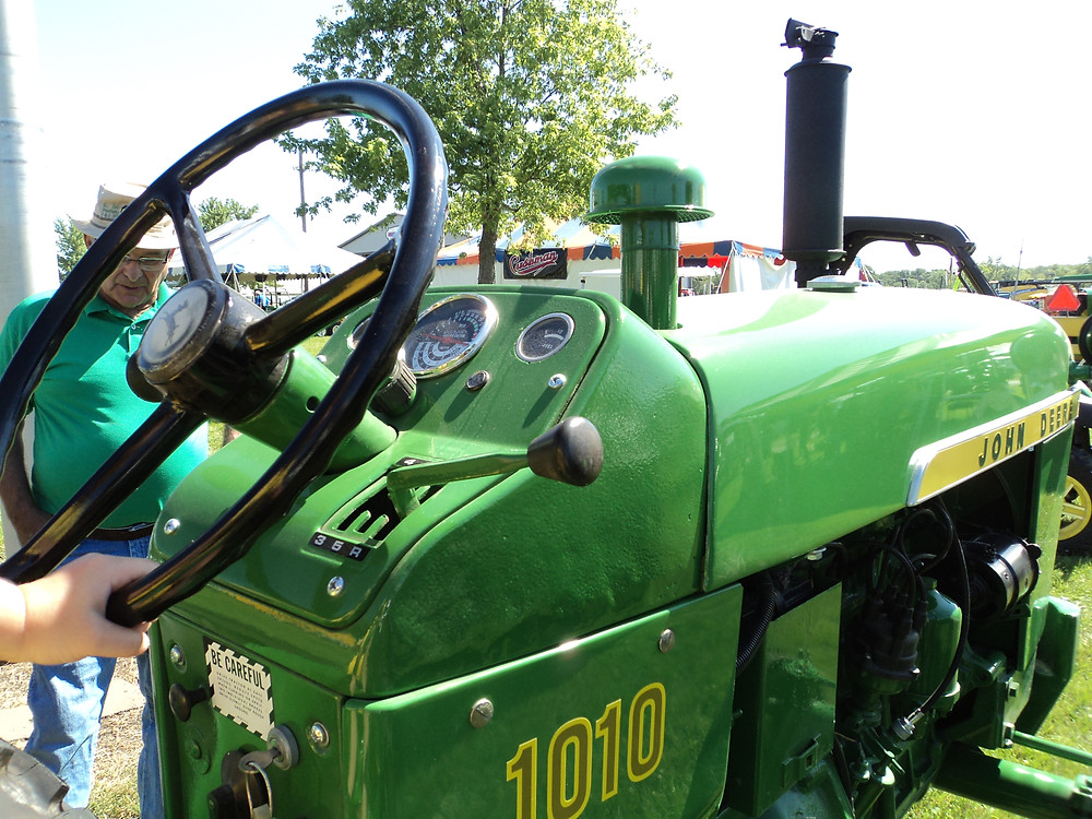 John Deere will be the featured brand at this weekend's Threshermen's Reunion / CIFN file photo.